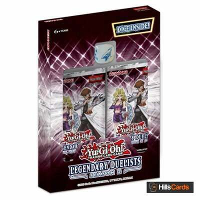 £13.75 • Buy YuGiOh Legendary Duelists Season 2: Sealed Box Of 2 Packs | 18 Cards Per Booster
