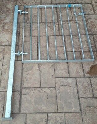 Heavy Duty Metal Gate Galvanised With Post • 60£