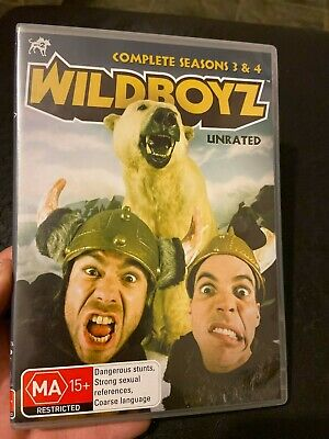 Wildboyz : Unrated : Complete Seasons 3 & 4 From Jackass, Viva La Bam • 39.06£