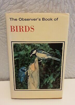The Observer's Book Of Birds By S. Vere Benson. Hardback With Dust Jacket. 1979  • 1.50£