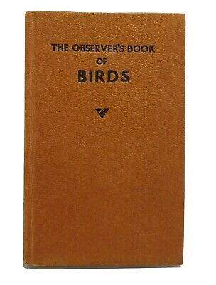 Vintage THE OBSERVER'S BOOK OF BIRDS BY S.VERE BENSON 1967 • 2.20£