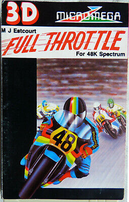 Full Throttle (aka 3D Full Throttle) By Micromega - ZX Spectrum - TESTED OK • 5£