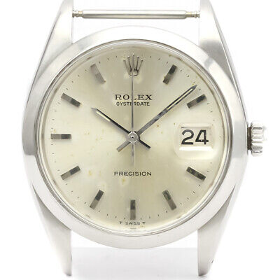 $ CDN2524.68 • Buy Vintage ROLEX Oyster Date Precision 6694 Steel Mens Watch Head Only BF523893