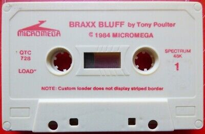 Braxx Bluff (Micromega) - Sinclair ZX SPECTRUM - Tested OK • 4.50£