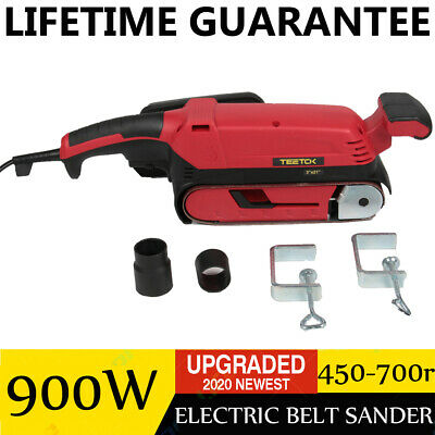 £37.08 • Buy 900W Belt Electric Sander Surfaces DIY Fixed Polishing Grinding Machine With Pad