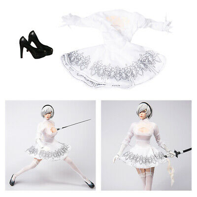 $25.32 • Buy Fashional 1/6 Dress And High Heel Shoes For 12inch Enterbay  Soldier