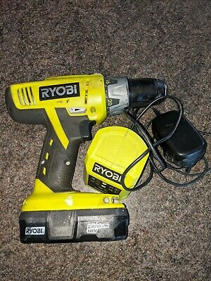 Ryobi One+ 18volt Lithium Drill, Battery And Charger • 29£