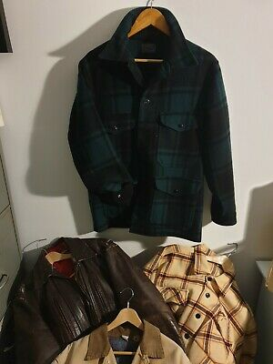PENDLETON Plaid Vintage Jacket ,60s 70s, Hunting Style, Excellent Condition • 92£