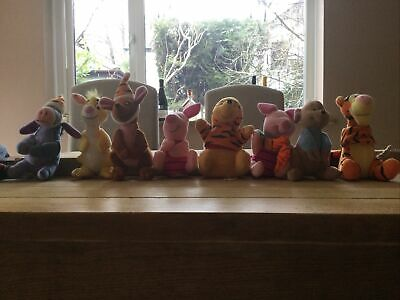 McDonald's Winnie The Pooh Characters 8 Pack • 6.50£