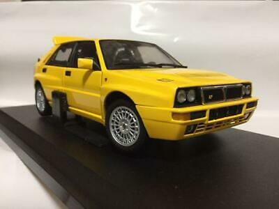 £245.74 • Buy 1/18 Scale Kyosho Lancia Delta Integral Gialla Color Yellow Used Item From Japan