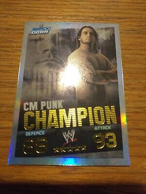 Wwe Slam Attax Evolution Champion C M Punk Card • 0.99£