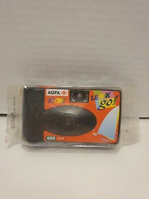 £7.09 • Buy U - AGFA LeBox Photo Ocean HDC+ 400 24+3 Disposable Camera Expired 2001