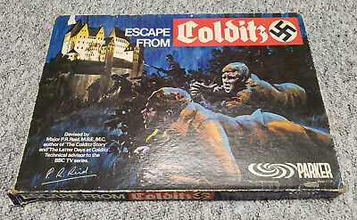Escape From Colditz Board Game Vintage Edition Complete Except Missing One Dice • 25£