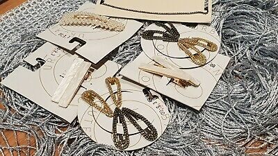 Brand New Urban Outfitters Sparkly-pearl Enamel Hair Clips JOB LOT Total RRP £56 • 12.99£