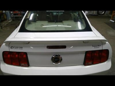 $164.99 • Buy Trunk Lid With Spoiler  White HP   Pedestal Mount Fits 05-09 MUSTANG 722437