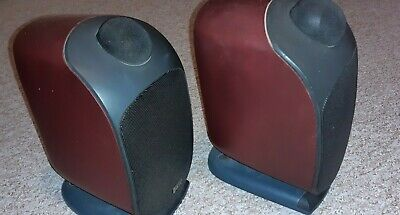 Pair Of Fully Working B&W Bookshelf Speakers 100W LM1 Great Condition • 50£