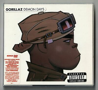 Gorillaz - Demon Days (Limited Edition CD & DVD - Plastic Wallet) (2005) • 7.85£