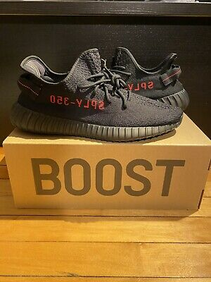 $ CDN508.68 • Buy Adidas Yeezy Boost 350 V2 Core Black Red Bred Men's Size 12 *IN HAND SHIP ASAP*