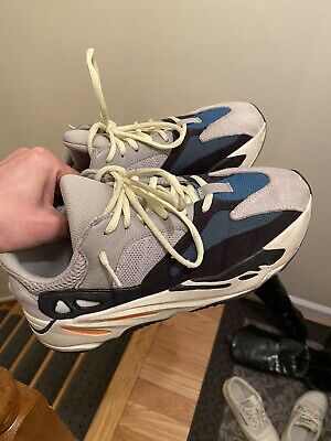 $ CDN382.76 • Buy 100% Authentic Yeezy 700 Wave Runner Solid Grey Size 9