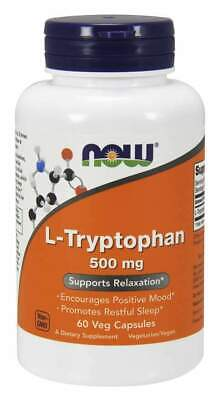 £19.99 • Buy NOW Foods L-Tryptophan 500mg
