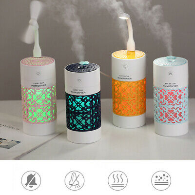 AU19.99 • Buy USB Ultrasonic Aroma Essential Diffuser Oil Air Humidifier Purifier Aromatherapy