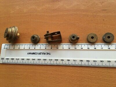 Vintage Meccano Brass Pulley And Cogs Job Lot • 23£