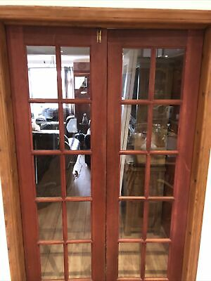 Georgian French Doors 10 Pane 610 W/1980h Approx Dimensions In Pictures • 60£