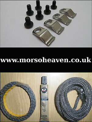 £23.50 • Buy  Morso Squirrel Door Rope, Glass Seal, Glass Clips And Screws Complete Kit.