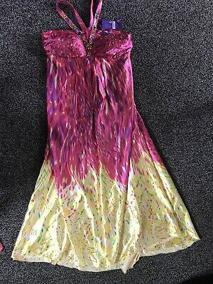 Ladies Long Colourful Dress Size 18 From EVER-PRETTY BNWT • 5£
