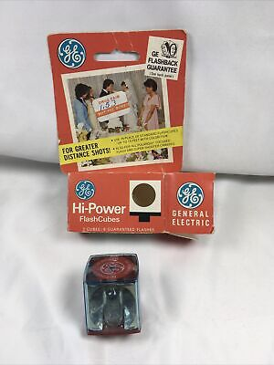 $3.99 • Buy GE Hi Power Flash Cubes, 1 Ct.