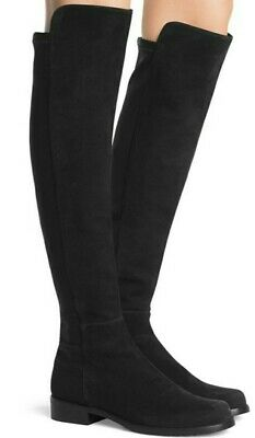 Russell Bromley Stuart Weitzman 50/5 Over The Knee Suede Boots 39 • 88£