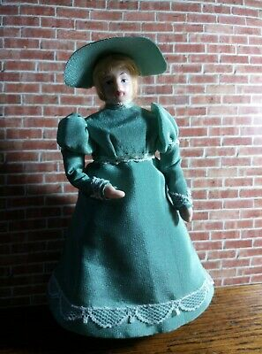 Dolls House Doll - Lady In Regency Dress • 15£