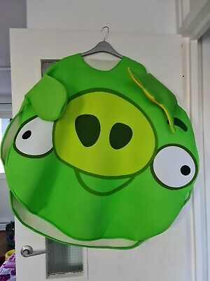 Pig From Angry Birds Costume Size Medium  • 5£