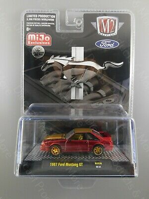 $ CDN82.92 • Buy M2 Machines CHASE 1987 Ford Mustang GT Foxbody MJS30 Mijo Exclusive 1:64 Scale