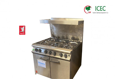 Falcon Cooker With Shelve 6 Burner Dominator Plus Gas Oven Range. • 920£