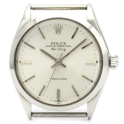 $ CDN3256.10 • Buy Vintage ROLEX Air King 5500 Steel Automatic Mens Watch Head Only BF522731