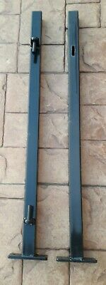Bolt Down Gate Post And Latch Post Metal • 40£