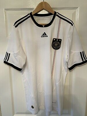 Germany National Team Home Shirt 2010 Size L • 14.99£