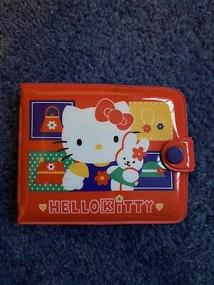 Hello Kitty Plastic Purse • 1.70£