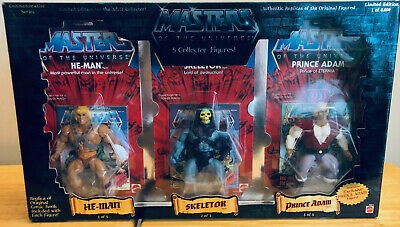 $350 • Buy MOTU, Commemorative 5-pack, Masters Of The Universe, MISB, Box, (8,000 Made)