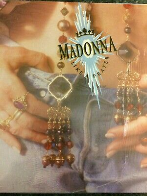 Classic 12  Vinyl Album - Madonna - Like A Prayer - Classic 12  Vinyl Lp Record • 4.99£