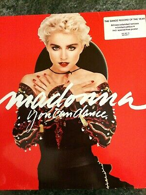 Classic 12  Vinyl Album - Madonna - You Can Dance - Classic 12  Vinyl Lp Record • 4.99£