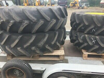 John Deere Tractor New Wheels And Tyres (Fronts And Rears) • 2,300£