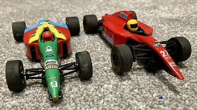 Scalextric F1 Cars Fiat Bennetton Slot Cars Hornby Hobbies • 10.50£