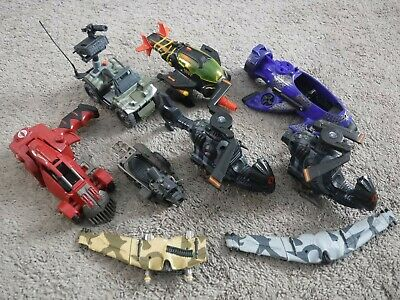 $ CDN19.14 • Buy GI Joe 2002-2004 VEHICLE LOT Parts Assault Quad, Fang, Hornet, Sub 2009 Glider +