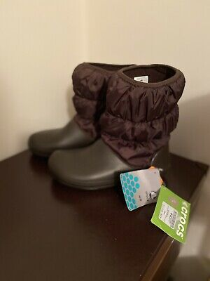 Crocs Winter Puff Boots UK6 W8 New With Tags • 24.99£