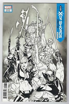 £8.68 • Buy X Of Swords Creation #1 One Per Store B&w Sketch Variant Over Marvel Comics 2020