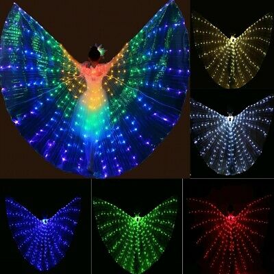 £46.40 • Buy LED Wings Flashing And Very Shiny Adjustable For Costume Party Colorful Dancing