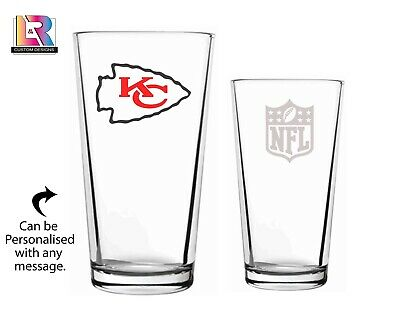Super Bowl 2021 Personalised Pint Glass • 4.99£