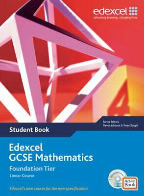 Edexcel GCSE Maths 2006: Linear Foundation Student Book And Active Book With CD • 18.13£